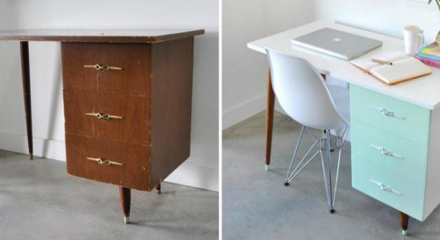 Пребоядисайте и освежете старите си мебели