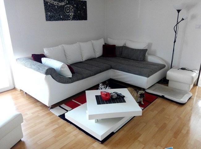 За избора на ъглови дивани за всекидневната и кухнята